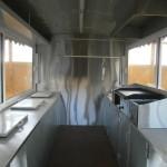 καντίνα άσπρη 3.5 μέτρα εσωτερικό πίσω