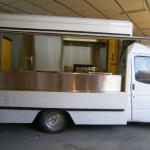 καντίνα ford άσπρη 3 μέτρα εξωτερικό πλάι ανοιχτό