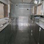 καντίνα μεταχειρισμένη 4 μέτρα άσπρη εσωτερικό