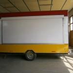 καντίνα τρέιλερ 4 μέτρα πλάι