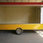 καντίνα τρέιλερ 4 μέτρα πλάι ανοιχτή